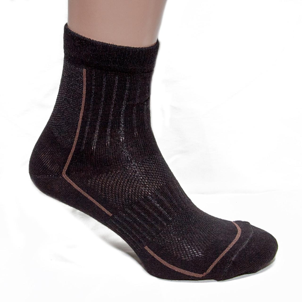 Носки трекинговые летние (черные)