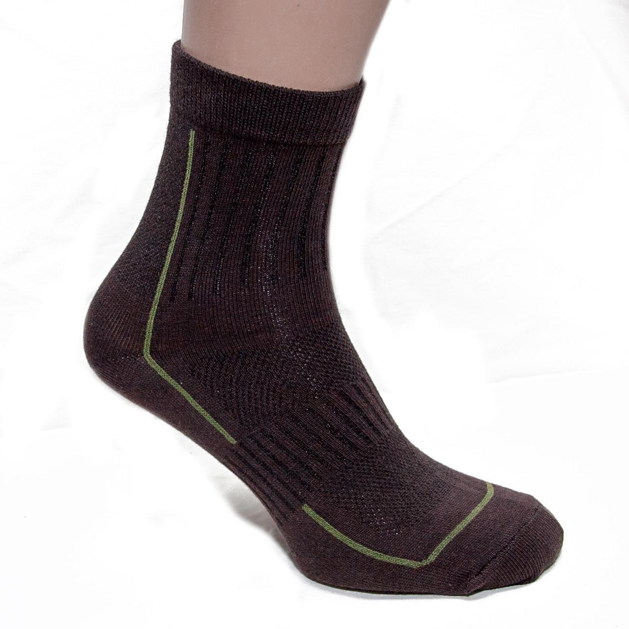 Носки треккинговые летние коричневые
