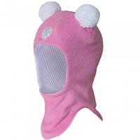Демисезоная шапка шлем для девочек