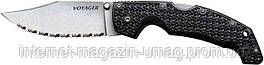 Ніж Cold Steel Voyager Large Clip Point Serrated