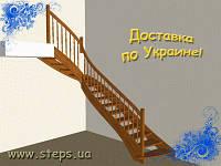 Деревянная Лестница - Г-образная
