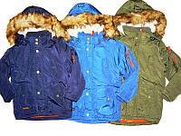 Куртка для мальчиков на синтепоне и подкладке, размеры  92/98,104/110, Glostory, арт. ВМА  3254