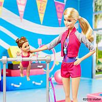 Кукла Барби тренер по гимнастике Barbie Gymnastic Coach Dolls & Playset