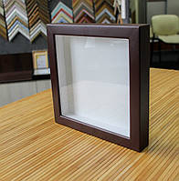 Рамка для 3D 10х15 см коричневая (шоколад)