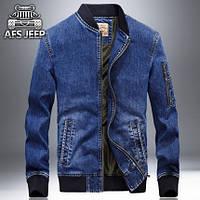 Мужские   джинсовые  Куртки  AFS Jeep