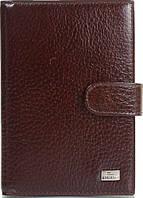 Оригинальный мужской кожаный органайзер для документов DESISAN SHI102-019 коричневый