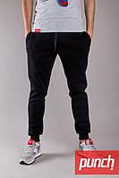 Мужские зимние черные спортивные штаны Punch - Jog, black