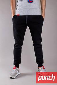 582a0646 Мужские зимние черные спортивные штаны Punch - Jog, black в наличии только  р. М