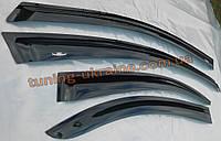 Дефлекторы окон HIC на Kia Rio 3 седан 2011-15 российская сборка