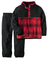 Теплый, флисовый костюм, Carters,2, 3, 5Т