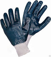 """Перчатки """"МБС""""  синие с мягким манжетом 100 грм"""
