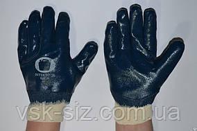 """Перчатки """"МБС"""" синие мягкий манжет 125 гр"""