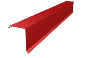 Планка ветровая (фронтон) для металлочерепицы