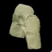 Рукавицы брезентовые с брезентовым наладонником
