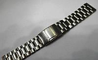 Браслет к часам Omega - нержавейка, цвет серебро
