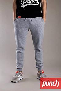 Мужские зимние серые спортивные штаны Punch - Jog, grey