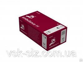 Перчатки  Латексные AMBULANCE (25 пар)