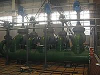 Замена металлических конструкций оконных проемов пульпо-насосной станции с заполнением поликарбонатом.