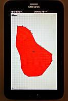 Прибор для измерения площади поля - Планшет агронома AGRO GPS, фото 1