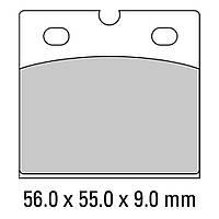 Тормозные колодки Ferodo FDB108P