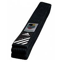 Пояс для кимоно Adidas Elite WKF Черный (adiB240WKF)