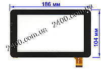 Сенсор тачскрин для Bravis NP72 планшета (тип 2)