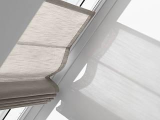 римская штора на мансардное окно