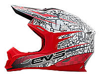 EVS T7 Helmet - Martini, Red - Красный, M
