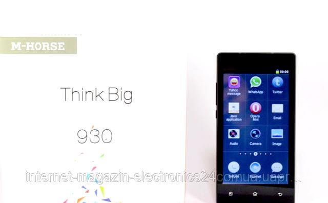 """Мобильный телефон 930 емкостный экран 5"""" - Интернет магазин Electronics24 в Одессе"""