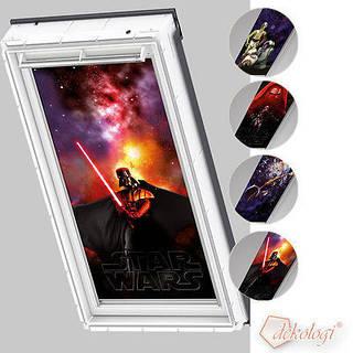 Звездная коллекция Star Wars & VELUX DKL (Велюкс) аксессуары для мансардных окон