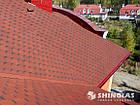 Битумная черепица Shinglas (Шинглас) Классик Кадриль Соната Турмалин (Красный), фото 2