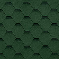 Битумная черепица Shinglas (Шинглас) Кадриль Соната (Зеленый)