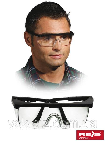 Защитные открытые очки REIS GOG-FRAMEB.