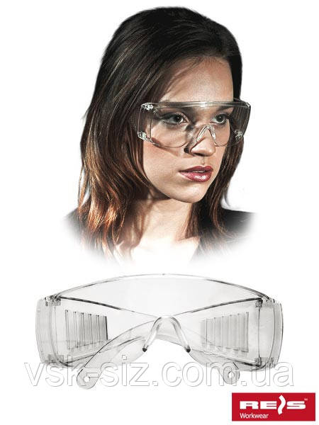 Защитные открытые очки REIS GOG-ICE
