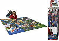 Игровой коврик с машинкой и знаками Dickie Toys 3745004