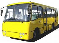 Заднее, боковое стекло для автобусов ПАЗ, Богдан, Элалон и др