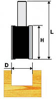 Фреза пазовая прямая FIT ф6х20х58мм хв.8мм (арт.36638)
