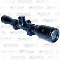 Прицел оптический BSA-Optics Essencial EMD 4x32 WR сетка Mil-Dot, фото 1