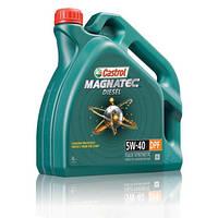 Castrol моторное маслоё.  5w40  DPF/B4 Magnatec Dsl 4л