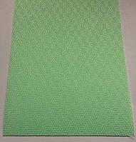 Жалюзи зеленые вертикальные 127мм