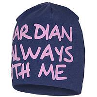 Модная весенняя шапка для девочек