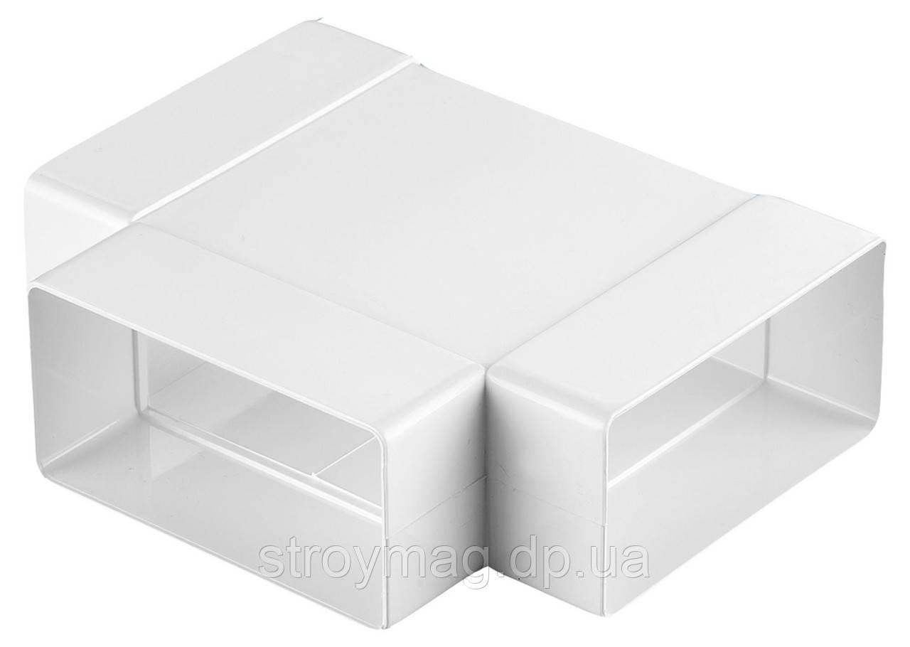 Трійник плоский Dospel D/TP 110*55 (007-0227)