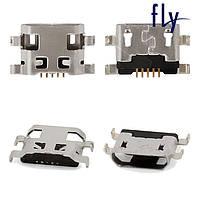 Коннектор зарядки для Fly IQ459 Quad EVO Chic 2, оригинал