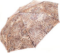 Шикарный женский зонт, полный автомат Doppler DOP746165SA-beige система антиветер