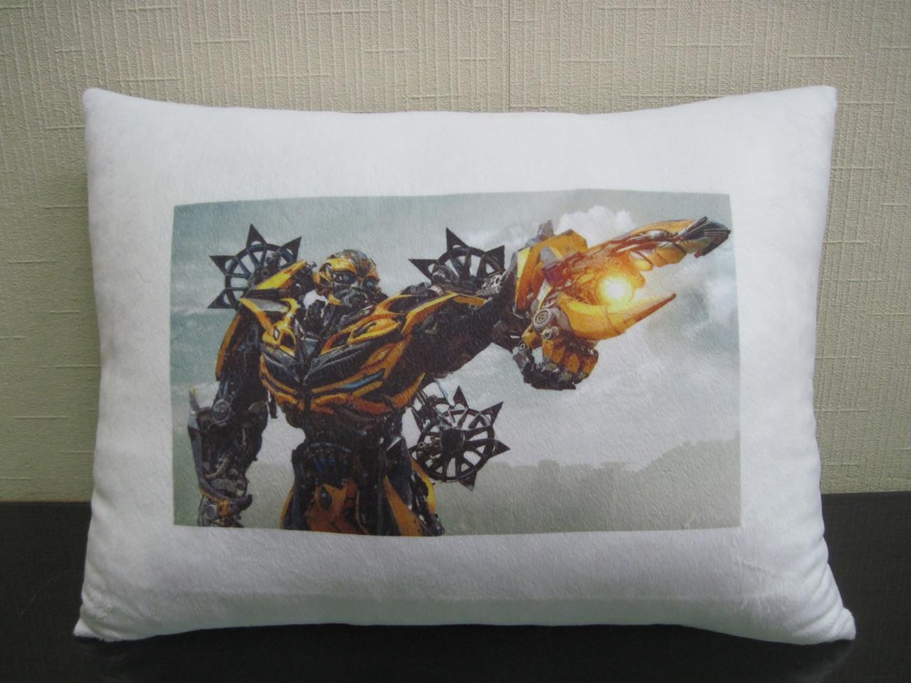 Подушка с фото из фильма Трансформеры