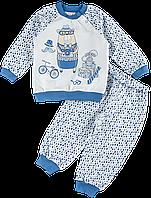 Пижама для мальчиков из футера