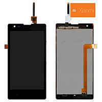 Дисплейный модуль (дисплей + сенсор) для Xiaomi Red Rice 1S, черный, оригинал