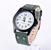 Часы мужские наручные зелёные арт. 092