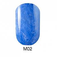 Гель-лак для ногтей 6 мл Naomi Gel Polish Metallic Collection M02