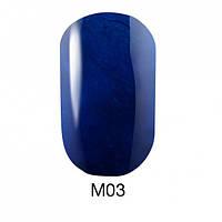 Гель-лак для ногтей 6 мл Naomi Gel Polish Metallic Collection M03
